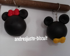 LEMBRANCINHAS DE BISCUIT DO MICKEY E DA MINNIE