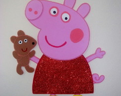 Kit (04 pers.) da Peppa Pig - painel