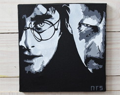 Quadro Harry Potter e Lord Voldemort