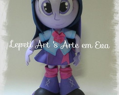Fofucha Equestria Girls Twilight Sparkle