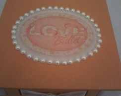 caixa decorada Love Ballet