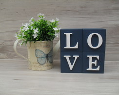 Cubos Decorativos LOVE 8 cm