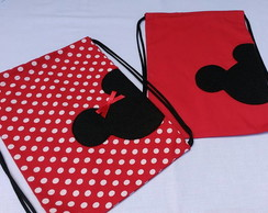 Mochilinha Mickey e Minnie