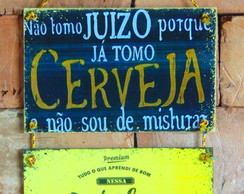 Placas divertidas de Porta e Parede