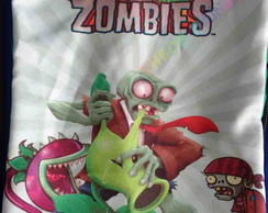 Mochilas 30X40 plants e zombies