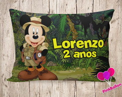 MINI ALMOFADA MICKEY SAFARI