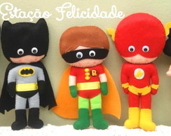 Kit Super Heróis Infantil 2