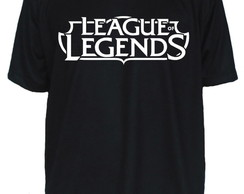 Camiseta League Of Legends LOL Jogo Game