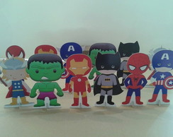 Vingadores, Display de mesa, totens