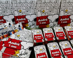 Kit Colorir Snoopy