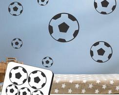 cadae15bb4 ... Adesivo de Parede - Cartela Bola Futebol