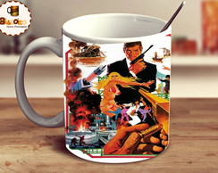 Caneca James Bond Retro