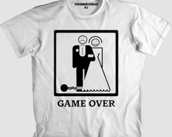 Camisa GAME OVER 001