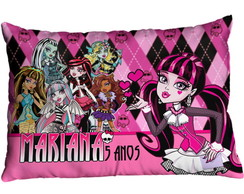 Almofadas Festa Monster High Draculaura