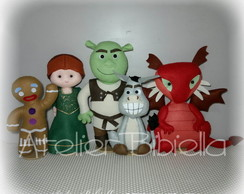SHREK - Kit 5 Personagens