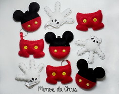 Chaveiro Mickey (Incluso Tags)