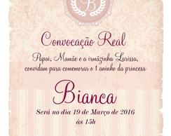 Convite Zap Virtual Princesa Realeza No Elo7 Comprafesta 6afe0e