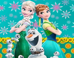 Painel Frozen Fever 05 | 2,00 x 1,00