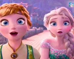 Painel Frozen Fever 03 | 2,00 x 1,00