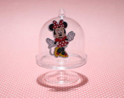 Mini-cúpula com aplique - minnie