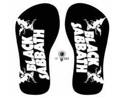 chinelo black sabbath