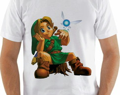 Camiseta Zelda Of Ocarina
