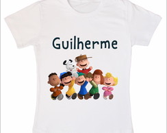 Camiseta Infantil Turma do Snoopy