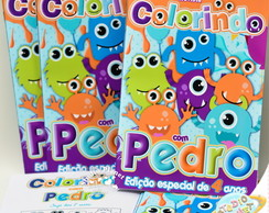 Revista de colorir Monstrinhos