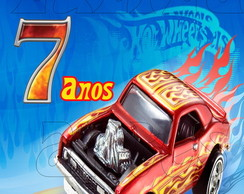 Arte Digital Tubete Hot Wheels