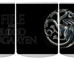 Caneca Mágica Game Of Thrones Targaryen