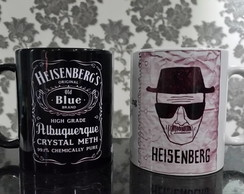 Caneca Breaking Bad Heisenberg Wanted