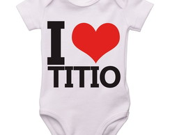 Body Bebê Love Titio