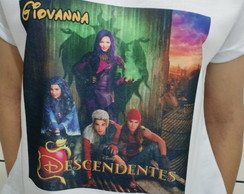 Camiseta Descendentes Disney