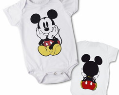 Body Mickey - Frente/Costas