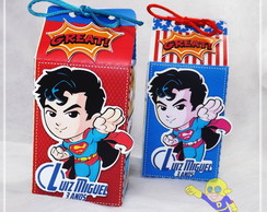 CAIXA MILK SUPERMAN