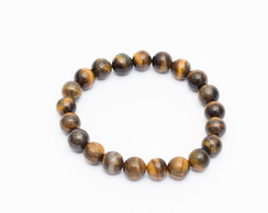 Pulseira Masculina RB Olho d Trigre 10mm