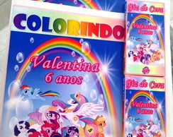 Kit de colorir Poney