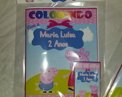 Kit de colorir Peppa