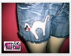 Shorts Customizado Cat