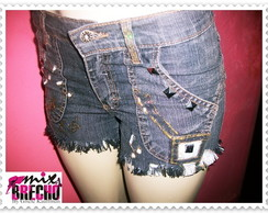 Shorts Customizado Rock