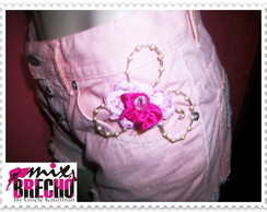Shorts Customizado Vintage