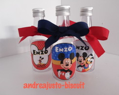 GARRAFINHAS PERSONALIZADAS DA MINNIE E DO MICKEY