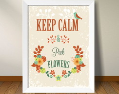 Quadro Keep Calm (A3)