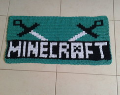 Tapete de crochê - Minecraft