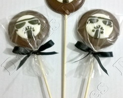 PIRULITOS DE CHOCOLATE STAR WARS