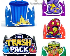 Forminha 3D - Trash Pack