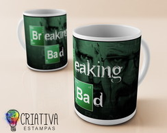 Canecas Séries - Breaking Bad MD6