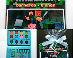 Minecraft - Mini Estojo pintura