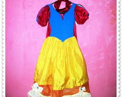 Fantasia Customizada Branca de Neve