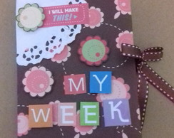 Mini agenda semanal de bolsa My Week.